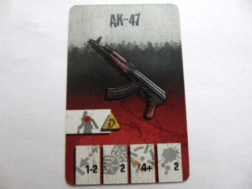 survivor equipment card (AK-47)
